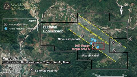 El Habal Mines Area