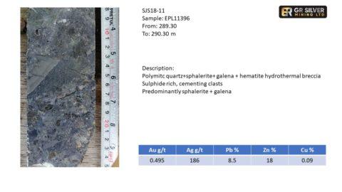 SJS18-11 Hydrothermal Breccia