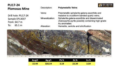 PLI17-24 Polymetallic Veins