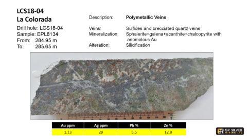 LCS18-04 – Polymetallic Veins