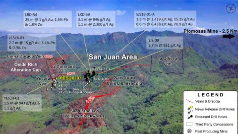 San Juan Looking to the NW—As of Nov 23, 2020
