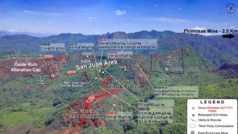 Location Map - San Juan Area Drilling Locations—Feb 17, 2021