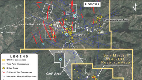 GAP Area – Structural Links Between San Marcial and Plomosas Projects