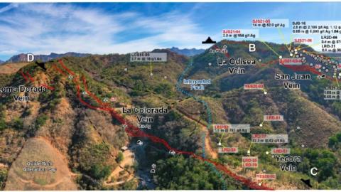 San Juan Area – La Colorada, Yecora and San Juan Veins in a Large Epithermal System—June 10, 2021